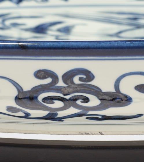 Loriini Side Table - Ink Blue