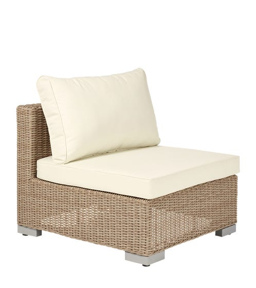 Luccombe Armless Chair - Off-White