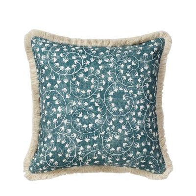 Malati Cushion Cover (51cmSq) - Marine Blue