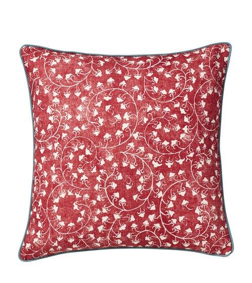 Malati Pillow Cover - Linen - Venetian Red