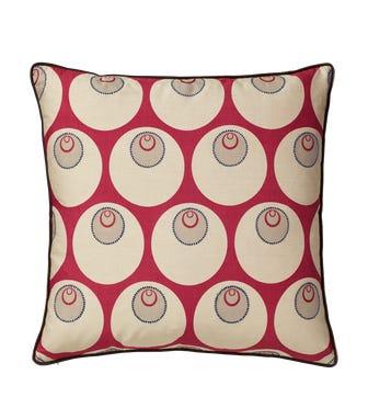 Maru Pillow Cover - Silk - Loganberry