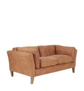 Marwick 2-Seater Sofa - Aged Tobacco