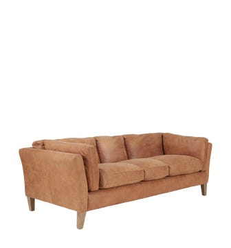 Marwick 3-Seater Sofa - Aged Tobacco