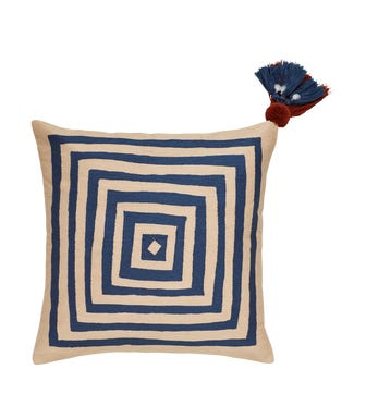 Mesmer Pillow Cover - Air Force Blue