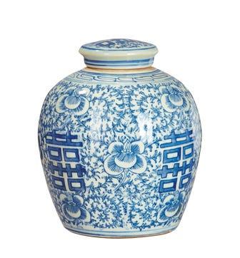 Minxian Jar - Blue