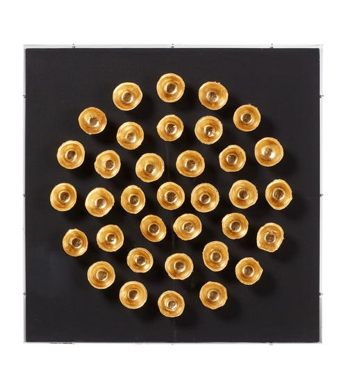 Mithra Wall Art - Black/Gold