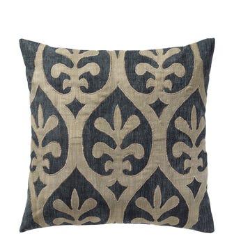 Morosini Cushion Cover (56cmSq) - Blue/Natural