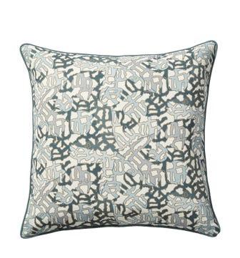 Mosaic Cushion Cover(51cmSq) - Blue