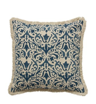 Nassau Cushion Cover - Indigo