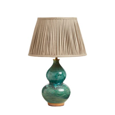 Nephrite Table Lamp - Antique Green