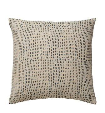 Nostell Dashes Cushion Cover - Indigo