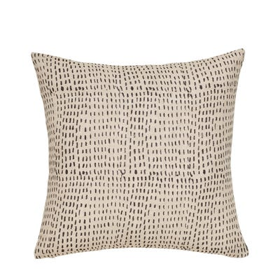 Nostell Dashes Pillow Cover - Onyx