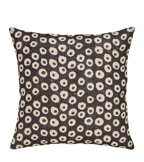 Nostell Dots Pillow Cover - Onyx