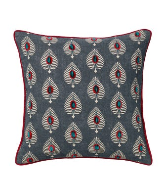 Ocellus Cushion Cover - Ink Blue
