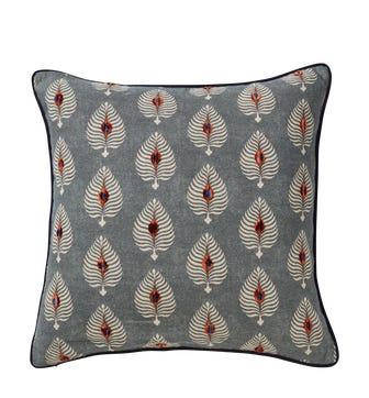 Ocellus Cushion Cover - Petrol