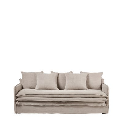 Odense 3-Seater Sofa - Putty