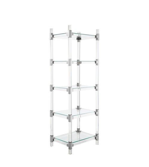 Oleta Bookshelves - Clear