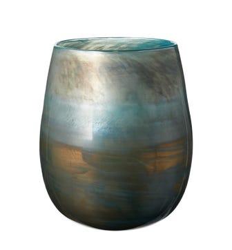Olja Vase, Large - Blue Lustre