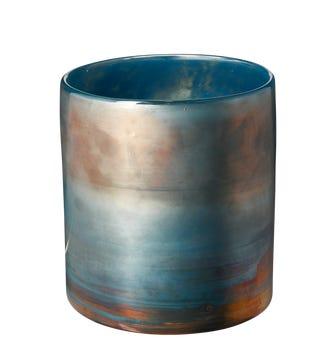 Olja Vase, Small - Blue Lustre
