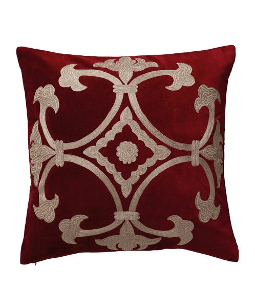 Ophelia Pillow Cover - Cranberry