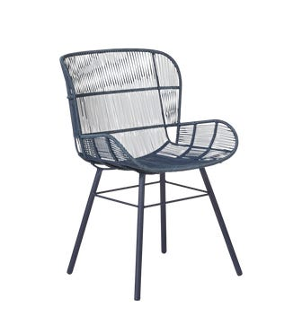 Orzola Dining Chair - Indigo