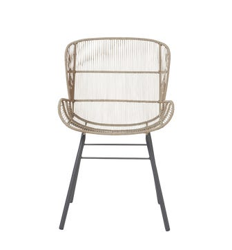 Orzola Rope Dining Chair - Storm Gray
