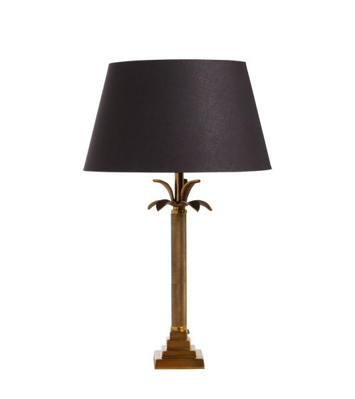 Palmerro Table Lamp - Antique Brass
