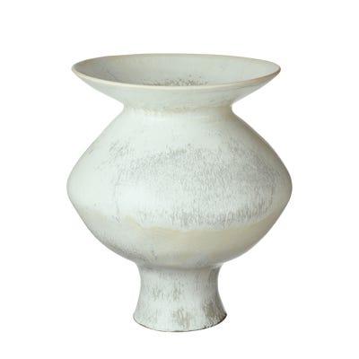Papavera Vase Large - Volcanic White