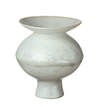 Papavera Vase Medium - Volcanic White