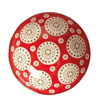 Pasha Bowl - Red/Green