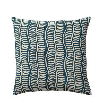 Pattani Eclipse Cushion Cover(51cmSq) - Indigo