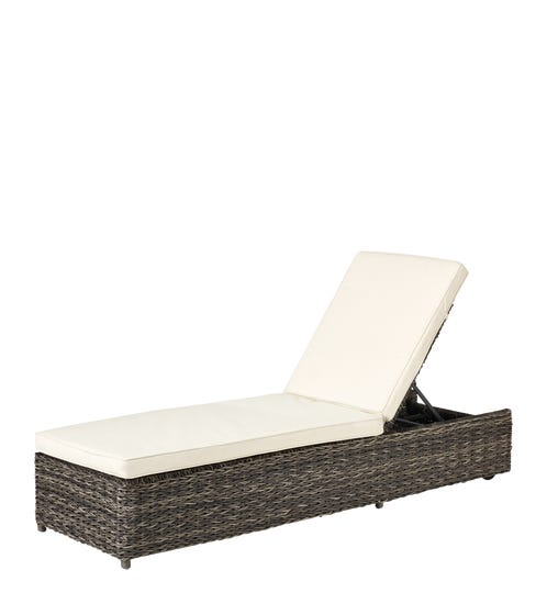 Pentire Adjustable Sunbed - Flint Grey