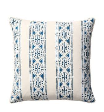Petiole Cushion Cover(51cmSq) - Sea Blue