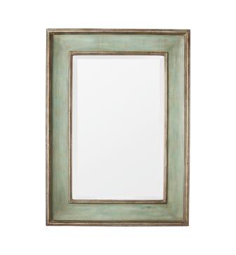 Pevensie Mirror - Antique Green