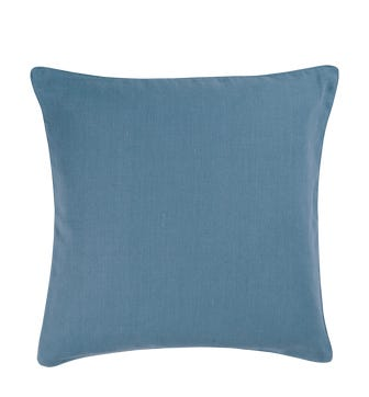 Plain Colours Linen Cushion Cover - Denim Blue
