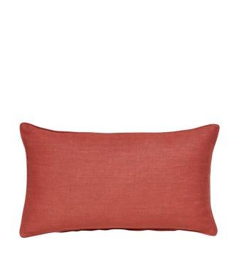 Plain Linen Pillow Cover Rectangular - Mist