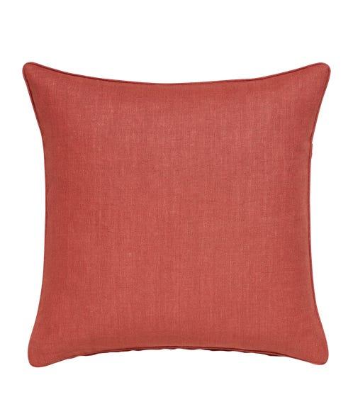 Plain Linen Pillow Cover Square - Terra