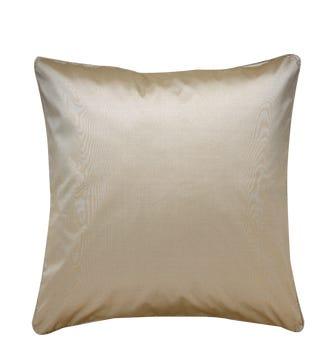 Plain Silk Cushion Cover, Assorted Colours - Grey