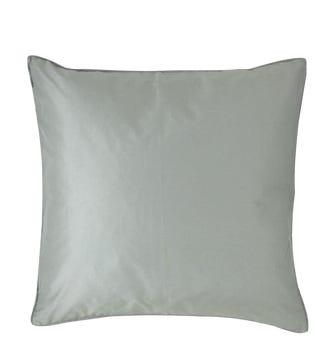 Plain Silk Cushion Cover, Assorted Colours - Pale Blue