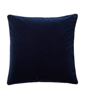 Plain Velvet Cushion Cover (51cmSq) - Perfect Navy