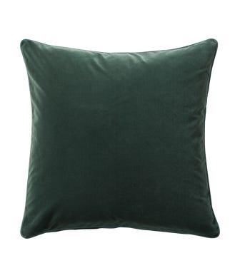 Plain Velvet Cushion Cover (51cmSq) - Marine Blue