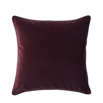 Plain Velvet Cushion Cover (51cmSq) - Rioja