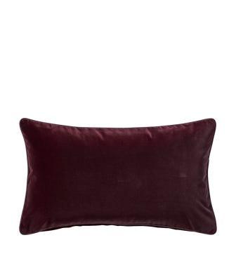 Plain Velvet Cushion Cover (60x35cm) - Rioja