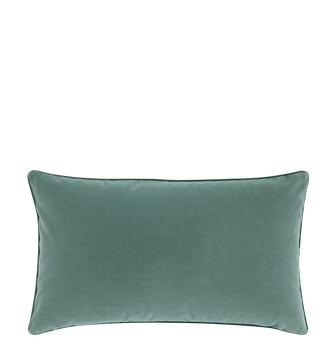 Small Plain Velvet Cushion Cover - Teal