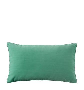 Plain Velvet Cushion Cover, Small - Turquoise