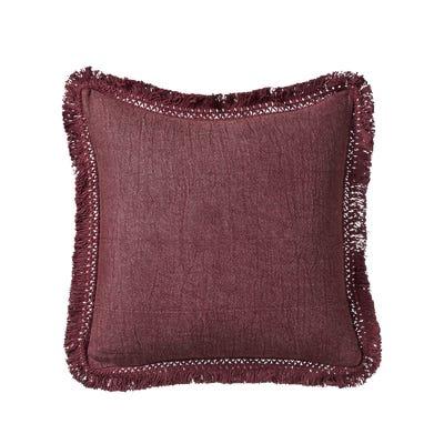 Portloe Plain Cushion Cover - Rioja