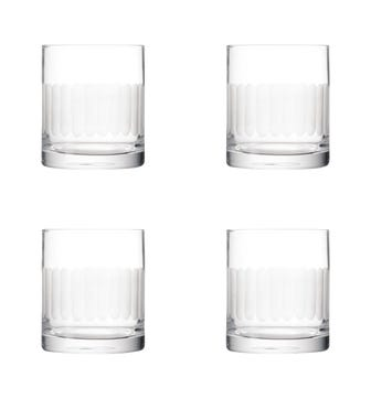 Set of Four Ranelagh Tumblers - Clear