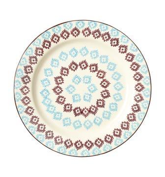 Rashmi Plate, Large - Blue/Purple