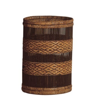 Rattan Mandalay Wastepaper Basket