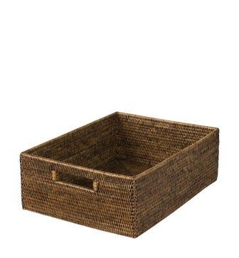Rattan Shelf Basket